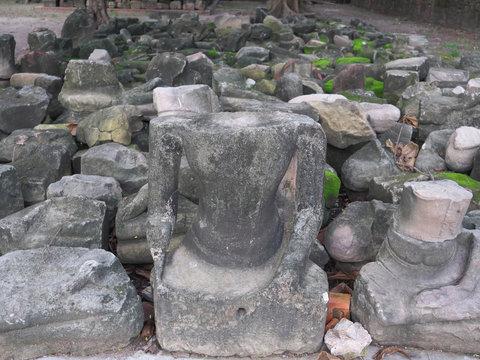 タイ王国 アユタヤ 奇跡の仏頭 ワット・マハータート/Wat Maha That