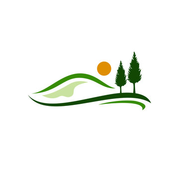 Hills Logo Stock Images