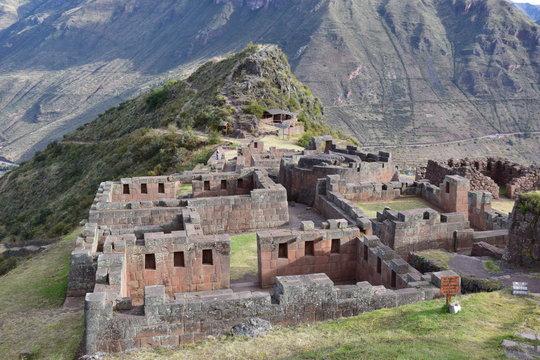 Scenery in Pisac, Peru