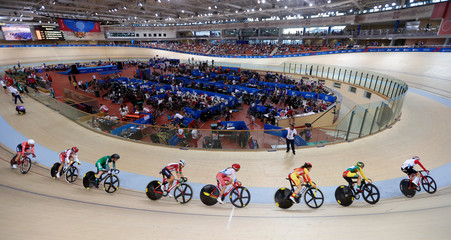 2019 European Games - Cycling - Track - Women's Points Race