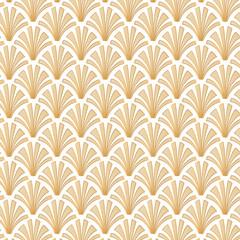 Light Gold Geometric Gatsby Art Deco Pattern Background Design
