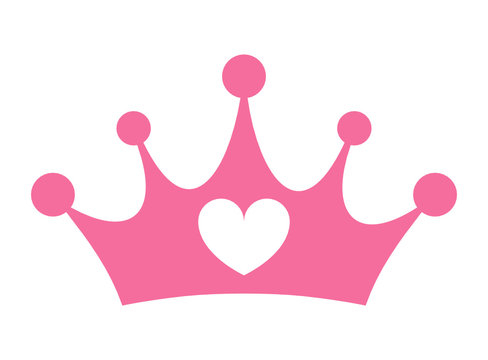 Pink Princess Crown Photos Royalty Free Images Graphics Vectors Videos Adobe Stock