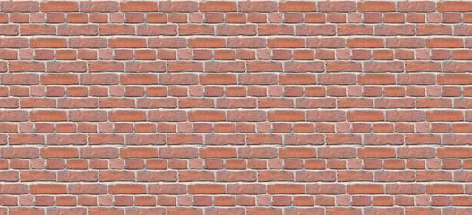 Fotobehang - Seamless bricks texture. Background brick. Wall texture