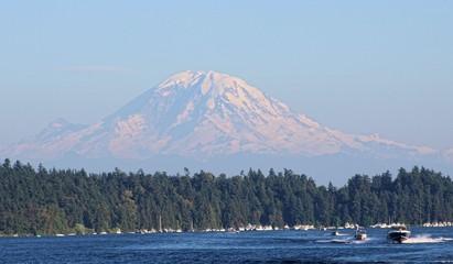Mount Rainier Seattle Washington State