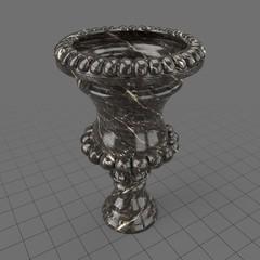 Marble garden urn 1