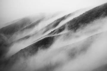 Nevoeiro a subir a serra