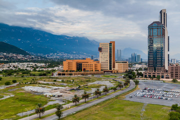 Skyline of Monterrey, Mexico