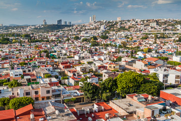 Aerial view of Queretaro, Mexico