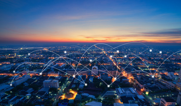 smart city and communication network