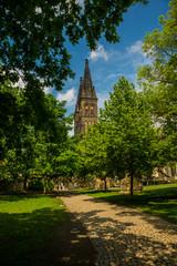 Prague, Czech Republic: Saint Peter and Paul Basilica in Visegrad, Vysehrad, located in Prague 2 district