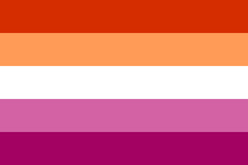Lesbian Pride flag