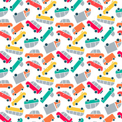Vector cars pattern