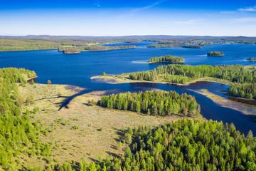 Schwedische Seenlandschaft