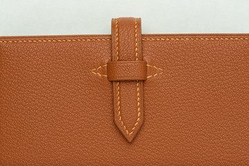 These are leather products made by hand.