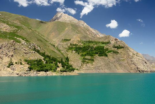 Trails from Haft-Kul (Seven Lakes) in the Fan mountains, Tajikistan