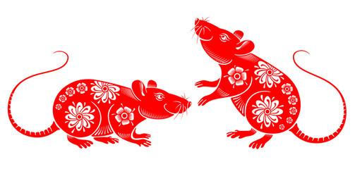 Rat Chinese Zodiac Symbol