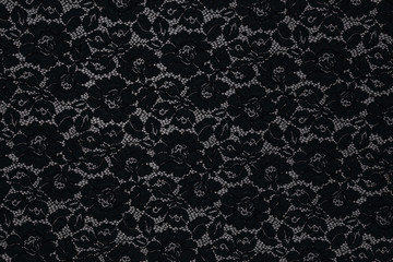 Beautiful fabric with floral pattern and textile texture background