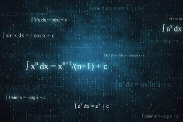 Creative math background