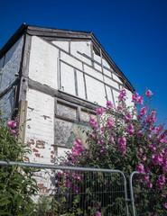 Abandoned Tudor Building