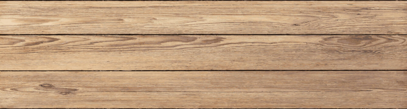 rustic pine planks vector background