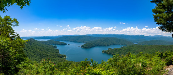 Lake Jocassee viewed from Jumping Off Rock, Jocassee Gorges Wilderness Area, South Carolina