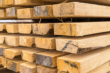 high stack of building materials natural materials eco house heat preservation background construction design