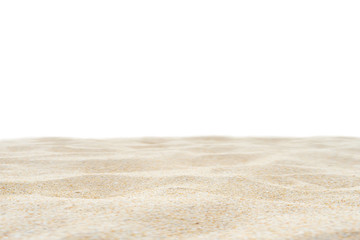 Wall Mural - Beach sand texture white background.