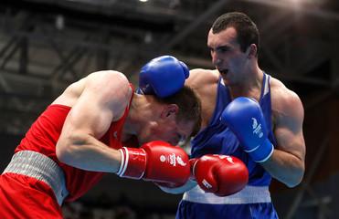 2019 European Games - Boxing - Men's Heavy -91kg