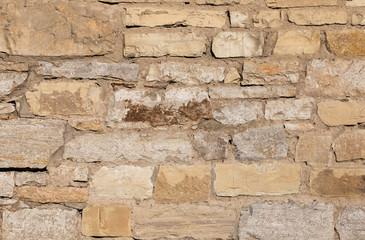 Foto auf AluDibond Alte schmutzig texturierte wand Old stone texture close-up