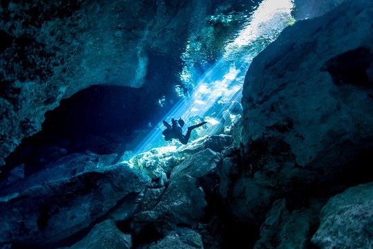 Meksyk cenote Chikin ha