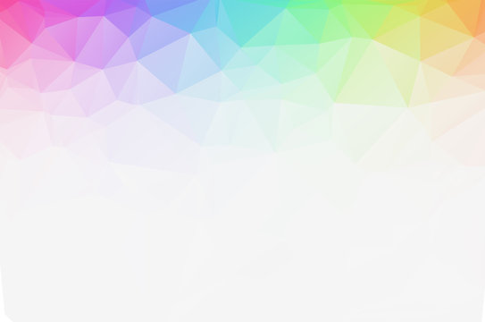 White Grey Low poly crystal background. Polygon design pattern. light Low poly vector illustration, low polygon background.