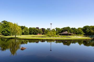 Paviljoen Sassennest in Park Rusthoff in Sassenheim