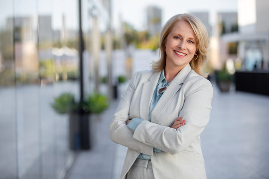 Smiling happy business woman advisor, consultant, financial, corporate lifestyle portrait