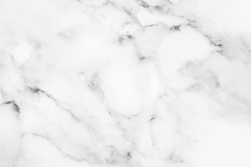 Photo sur Aluminium Cailloux White marble texture for background.