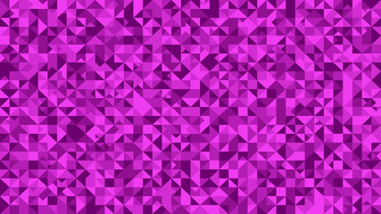 Purple abstract triangle pattern background - polygonal vector graphic