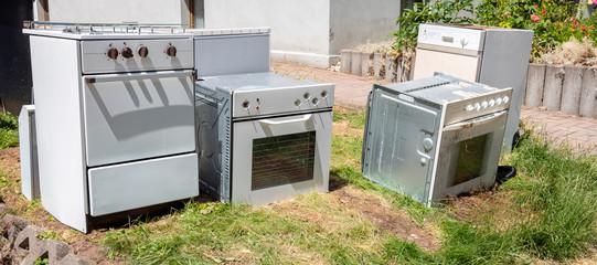 Alte Küchengeräte zum Recycling