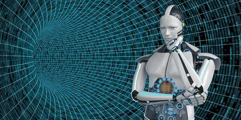 Thinking Humanoid Robot Data Tube