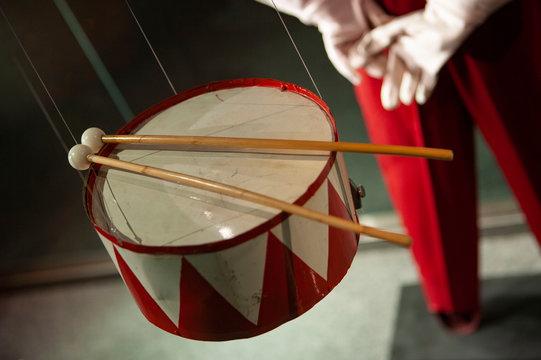 The thin drum. Music instrument. Günter Grass. Der Blechtrommel. Novel. Oskar Matzerath. Danzig. Germany.