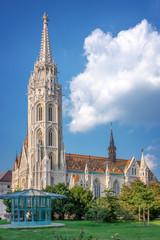 Wall Mural - Matthias church in Budapest, Hungary