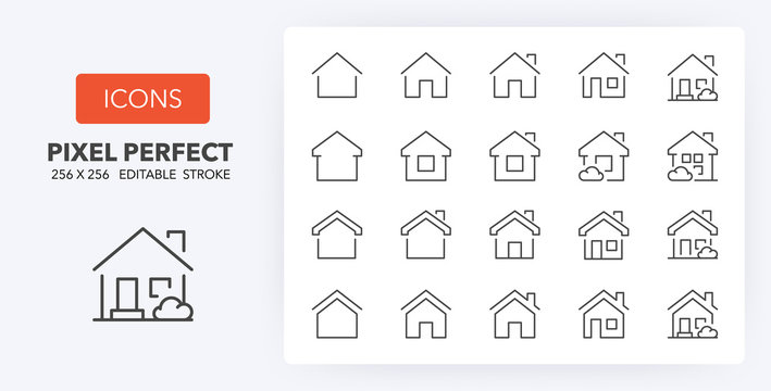 home line icons 256 x 256