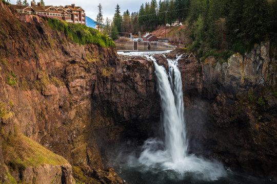 Snoqualmie Falls Viewpoint, Washington State