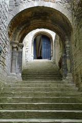 Fototapeta Inside Castle Rising, King's Lynn, Norfolk, England, UK