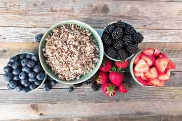 Berries and Quinoa