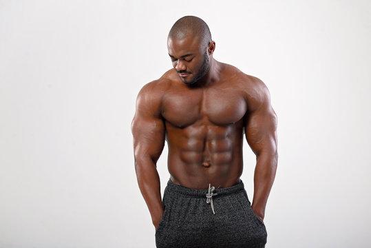 Bodybuilder black Bodybuilder