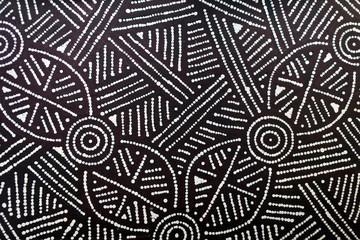 Indigenous Australian art Dot painting background