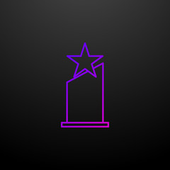 Oscar Star nolan icon. Elements of awards set. Simple icon for websites, web design, mobile app, info graphics