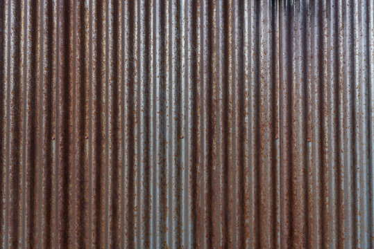 Rusty Corrigated Siding