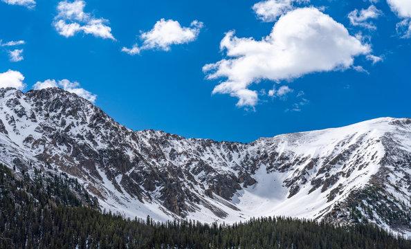 Ski Area On Loveland Pass, Colorado