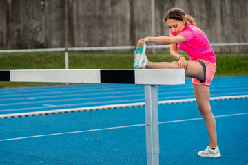 Fitnesstraining, Frau, 26 Jahre alt