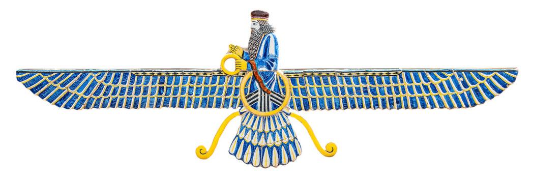 isolated sign of Zoroastrianism